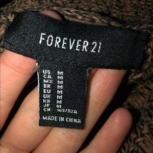 Forever 21 Sweaters - FOREVER 21 BUTTON UP SWEATER